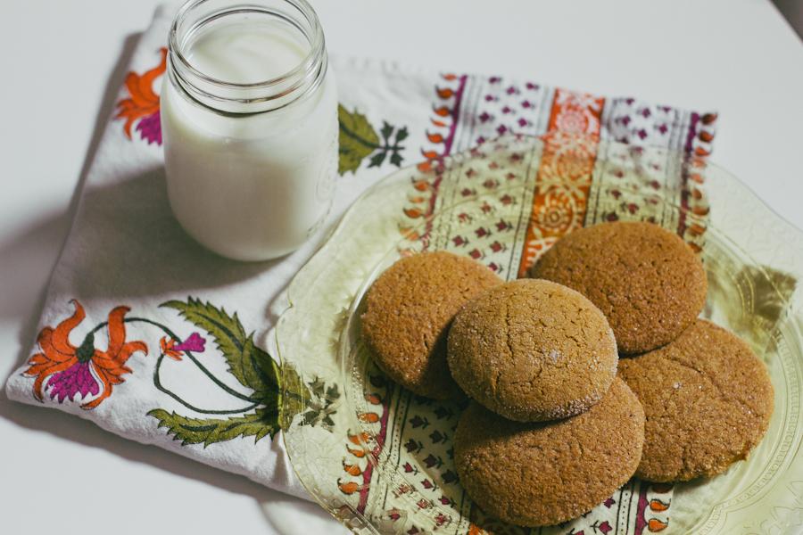 Pumpkin Molasses Cookies I The Arrow House