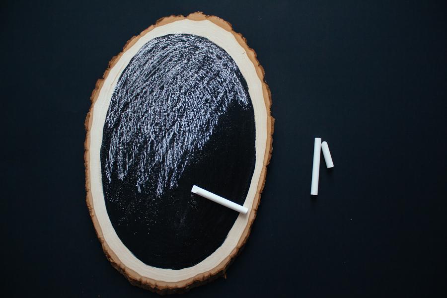 DIY Magnetic Chalkboard :: The Arrow House