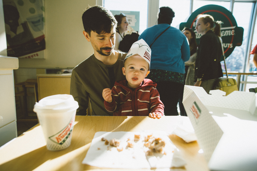 Donuts + Train Rides :: The Arrow House
