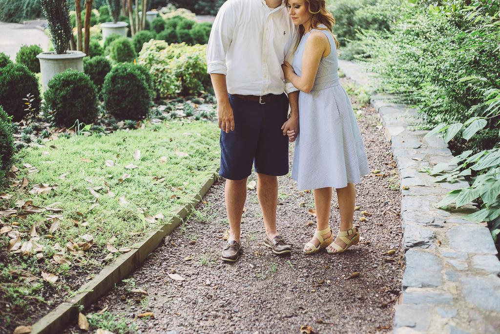 Duke Gardens :: Durham, NC Engagement :: The Arrow House
