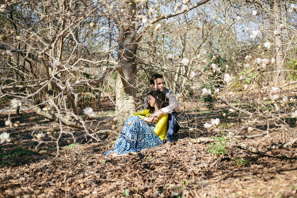 Duke Gardens Engagement :: Durham North Carolina