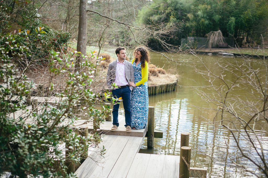 Duke Gardens Engagement :: Durham, North Carolina