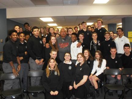 Cretin Derham Hall High School group