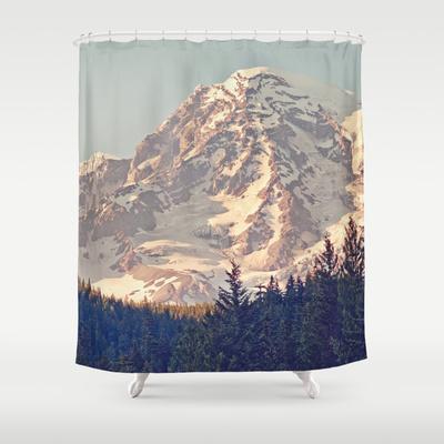 Mount Rainier Retro by Kurt Rahn