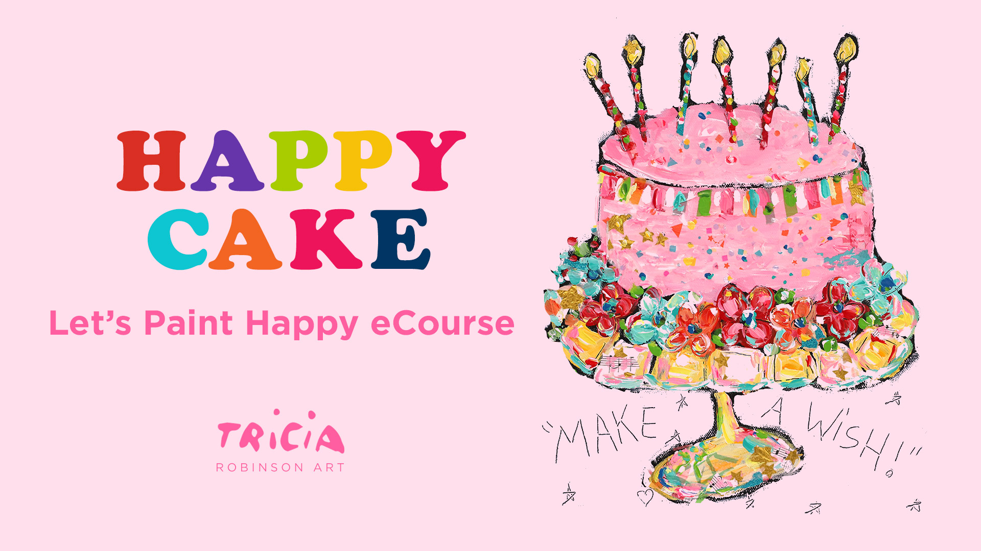 Art Paint Cake Ideas