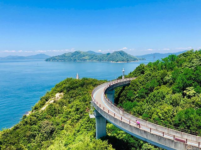 Cycled the Shimanami Kaido today. Such a beautiful ride. Here's one iPhone snap from that ride. Where would you like to cycle? #shimanamikaido #japan #onomichi #imabari #hiroshima #japan #inlandsea #cycle #cyclelife