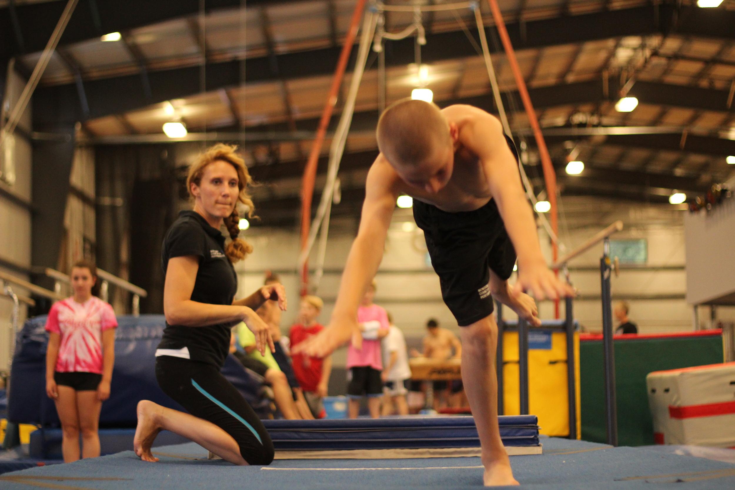 Boys Competitive/Recreational Gymnastics