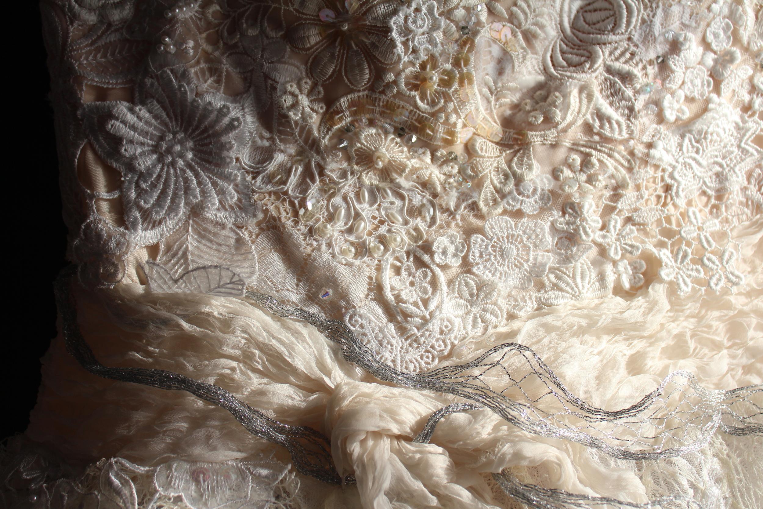 Detail: Versailles Ballgown
