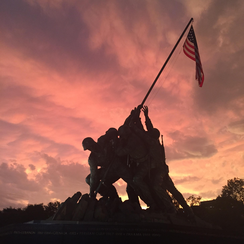 Iwo Jima Memorial, Arlington VA