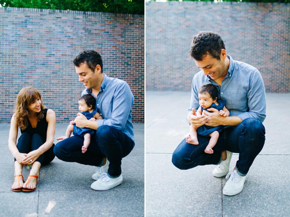 Family Portrait Photography at the Minneapolis Sculpture Garden