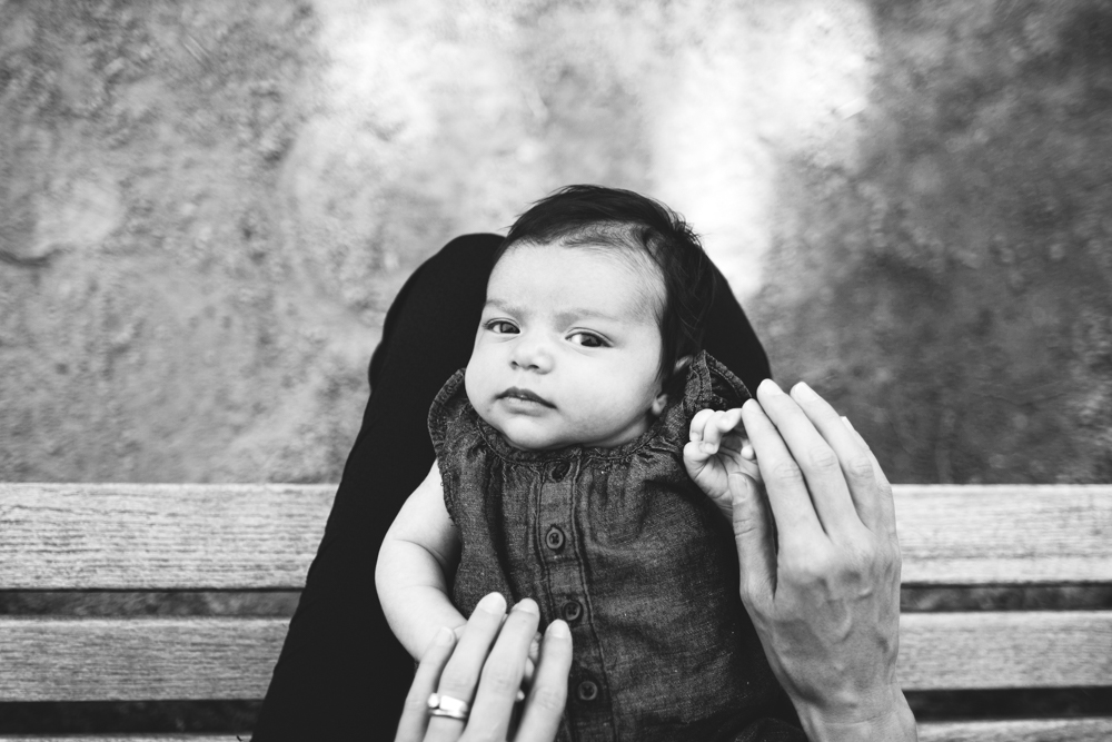 Newborn Portrait Photography at the Minneapolis Sculpture Garden