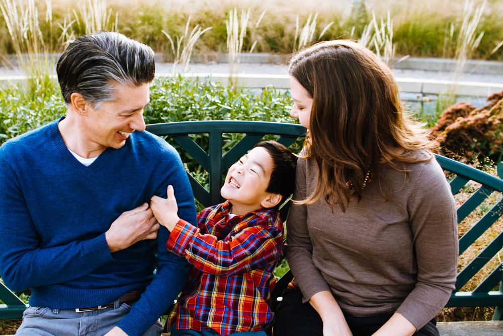 Family Photography at Minnehaha Falls Park