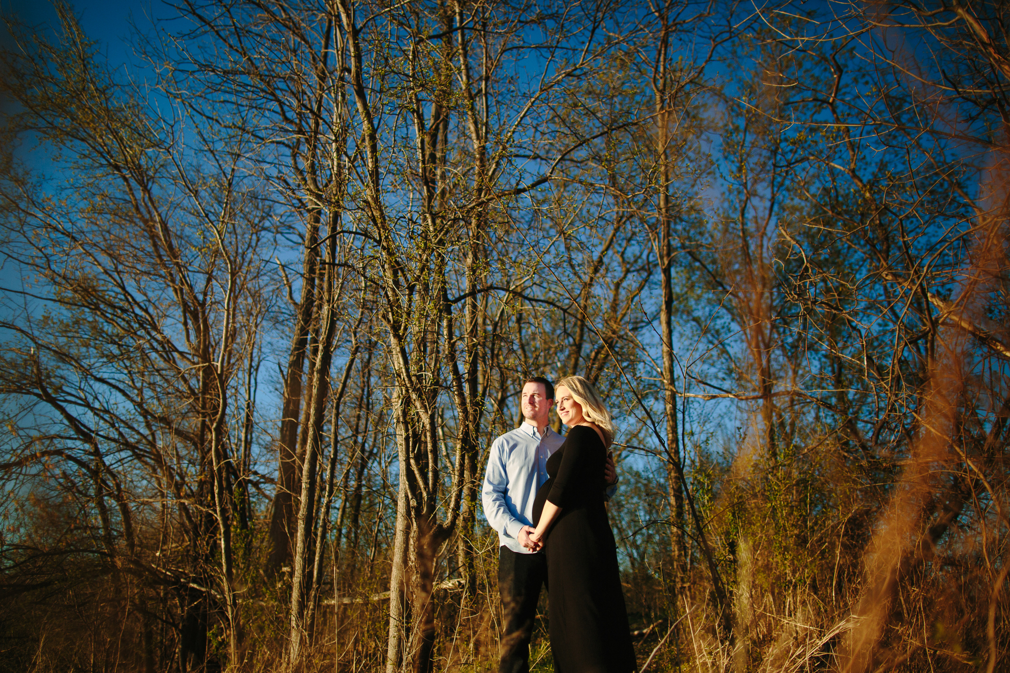 Summer Maternity Photos at Theo Wirth Park in Minneapolis
