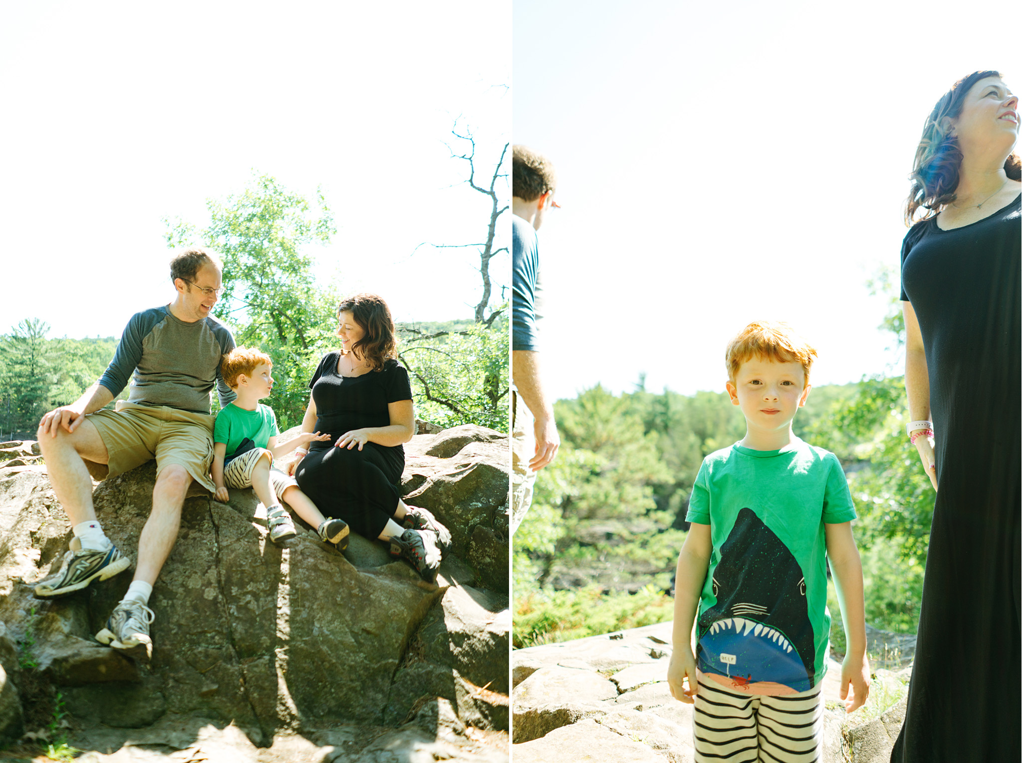 Family Portrait Photography at Interstate State Park in Minnesota
