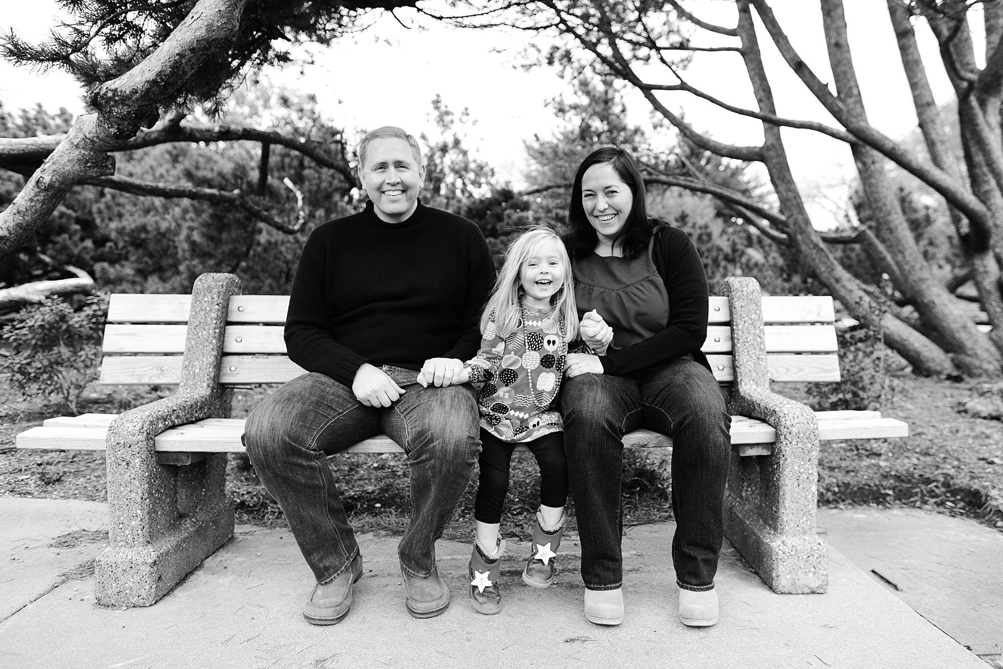 Family Portraits at the Minneapolis Peace Garden by Lake Harriet
