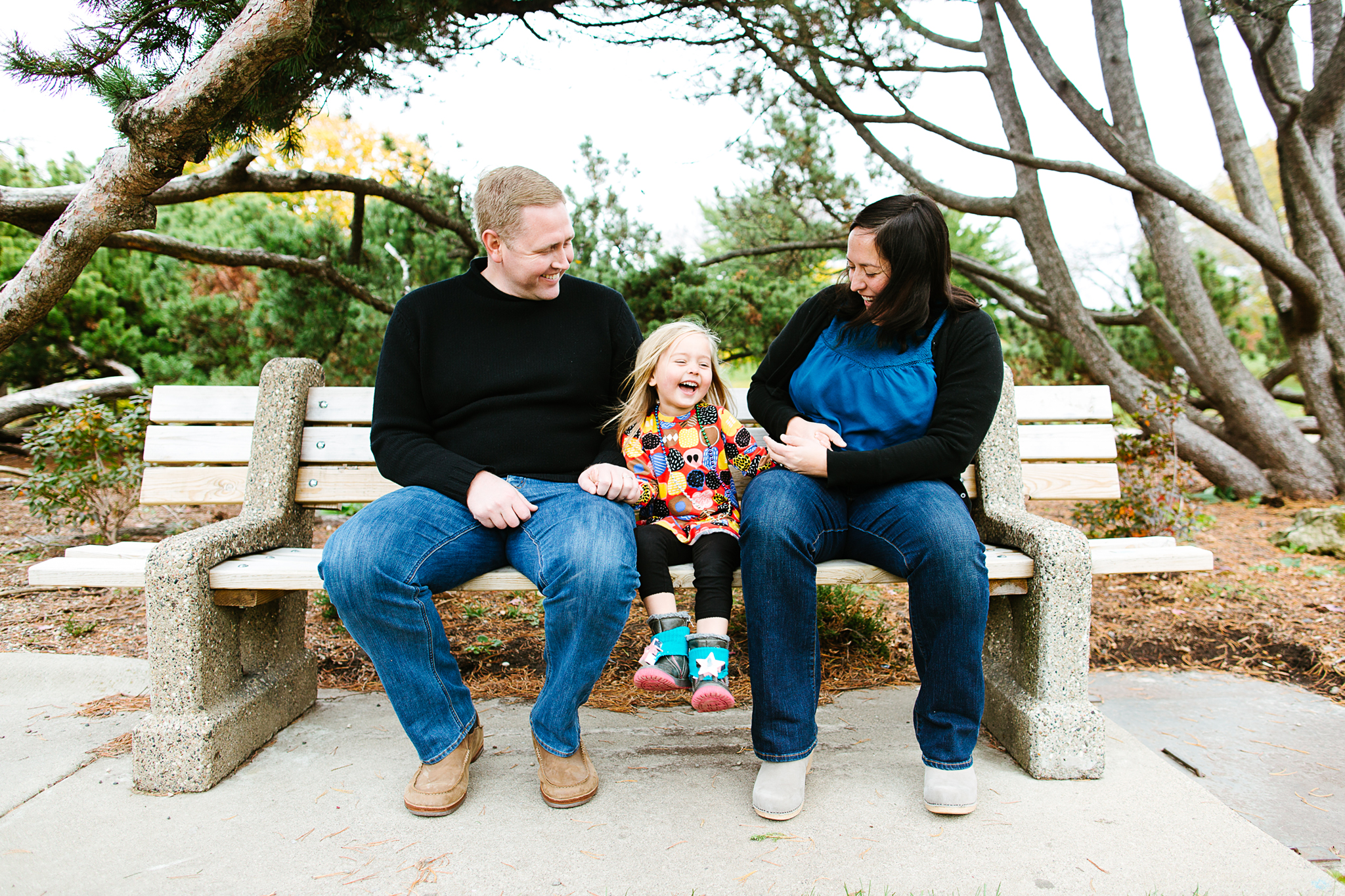 Family Photos at the Minneapolis Peace Garden by Lake Harriet