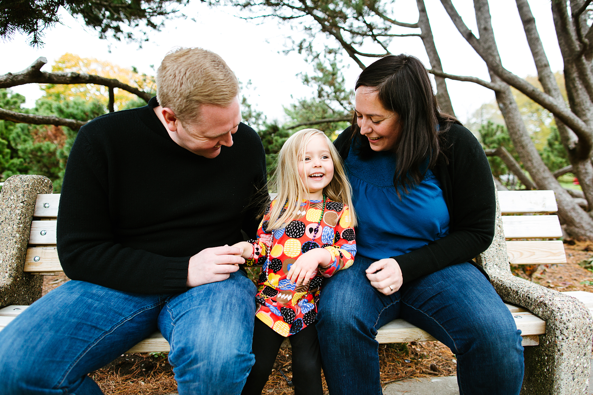 Fall Family Photos at the Minneapolis Peace Garden by Lake Harriet