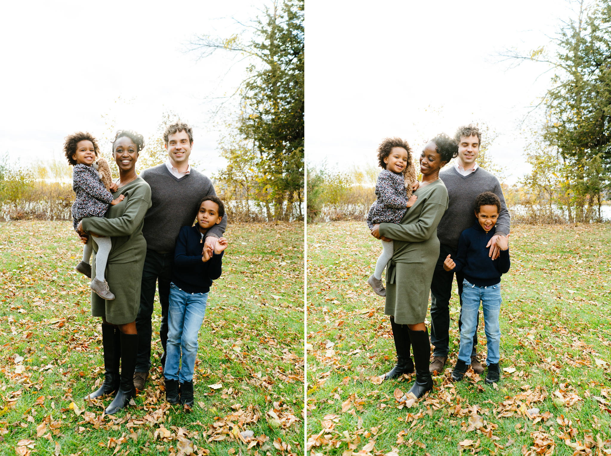 Family Photos by Lake of the Isles in Minneapolis
