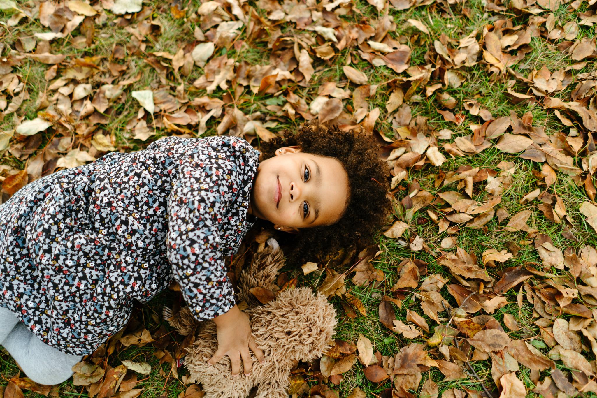 Fall Children's Portrait in Minneapolis