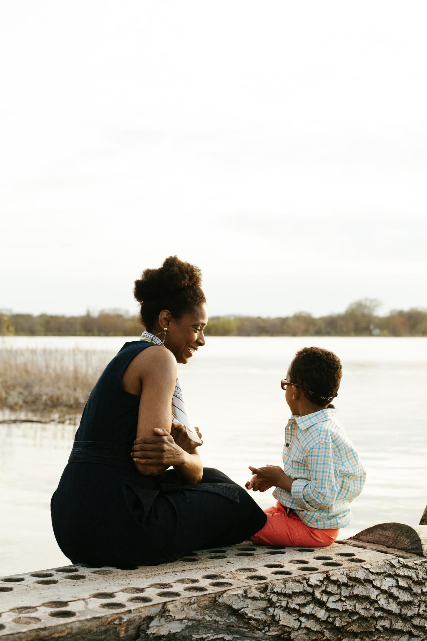 Lake Nokomis Family Photography