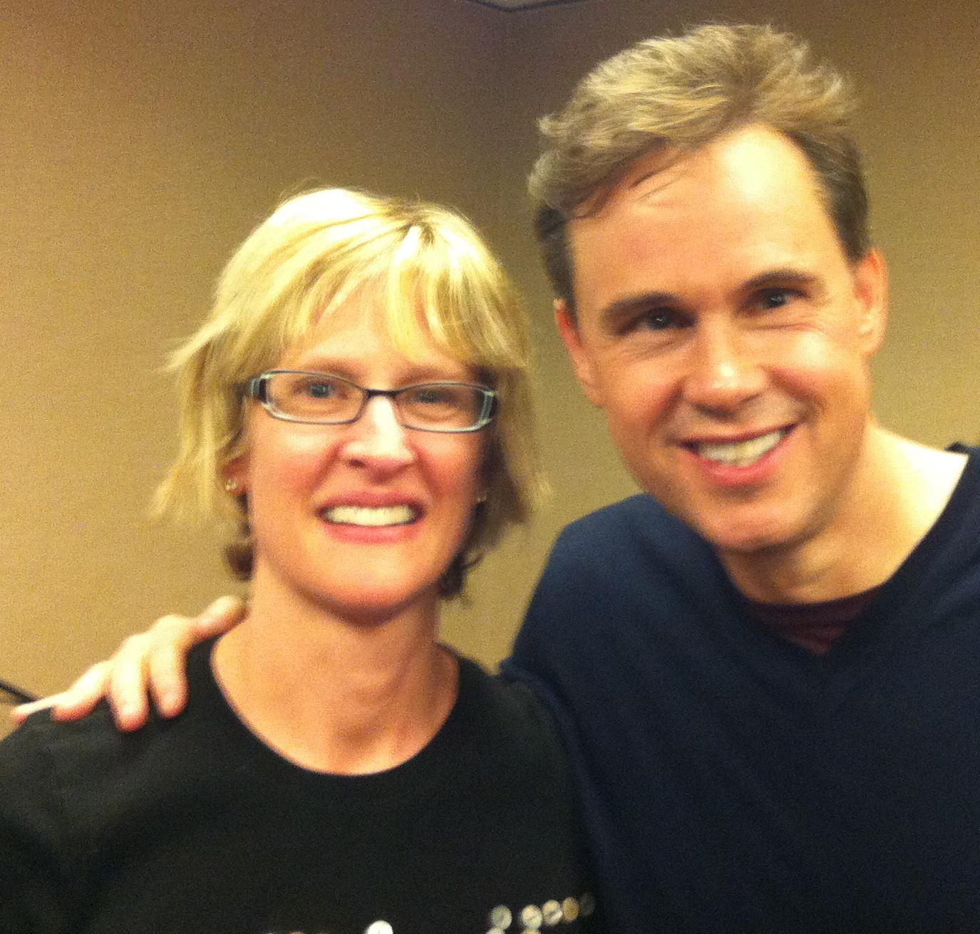 Robert Holden with me in November, 2011