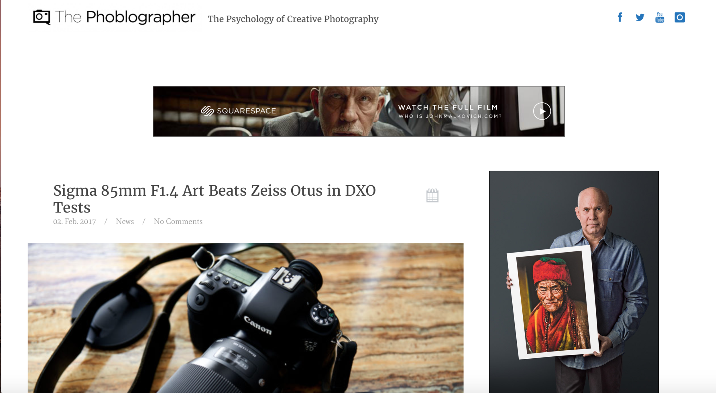 thephoblographer.com is another great place for photography articles and blogs.