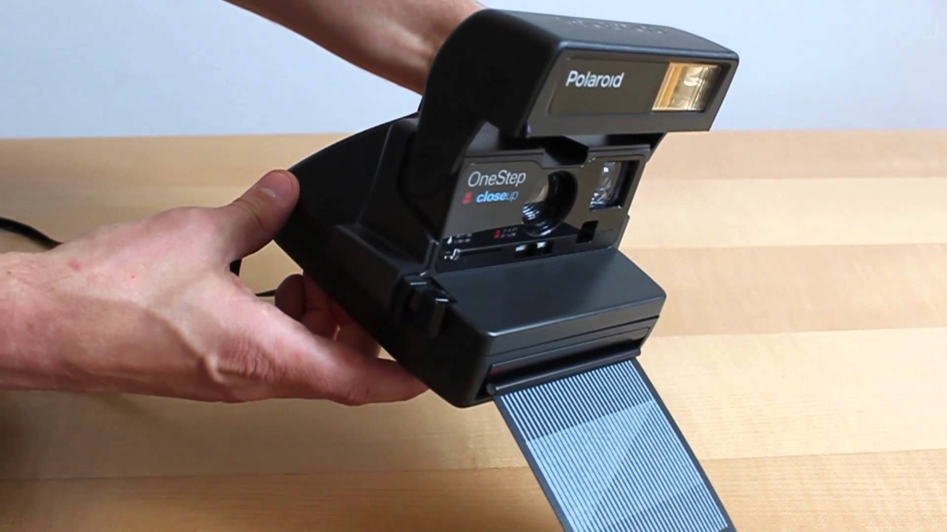The classic Polaroid 600 that everyone thinks of when you say Polaroid.
