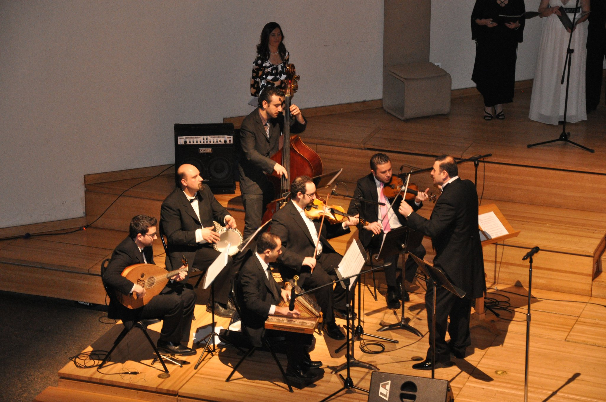 with NY Turkish Choir