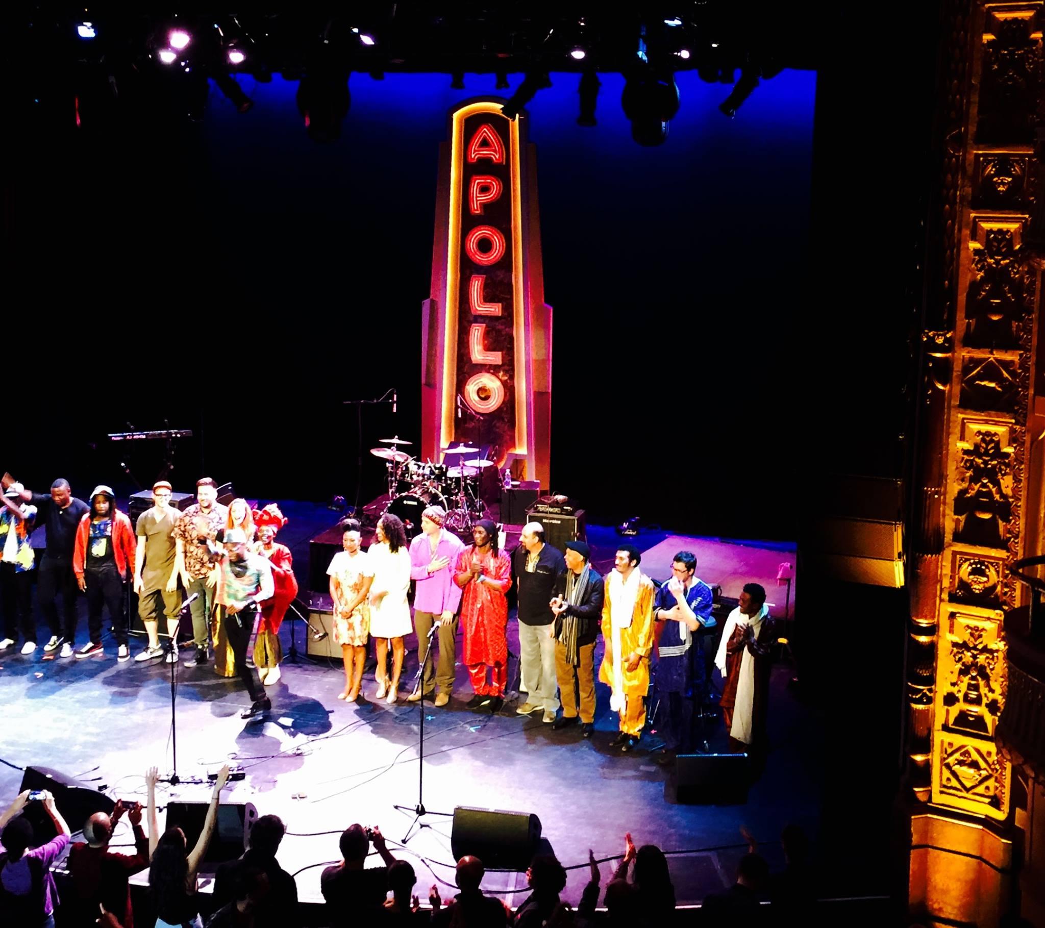 Nubatones at Africa Now Apollo Theater NYC