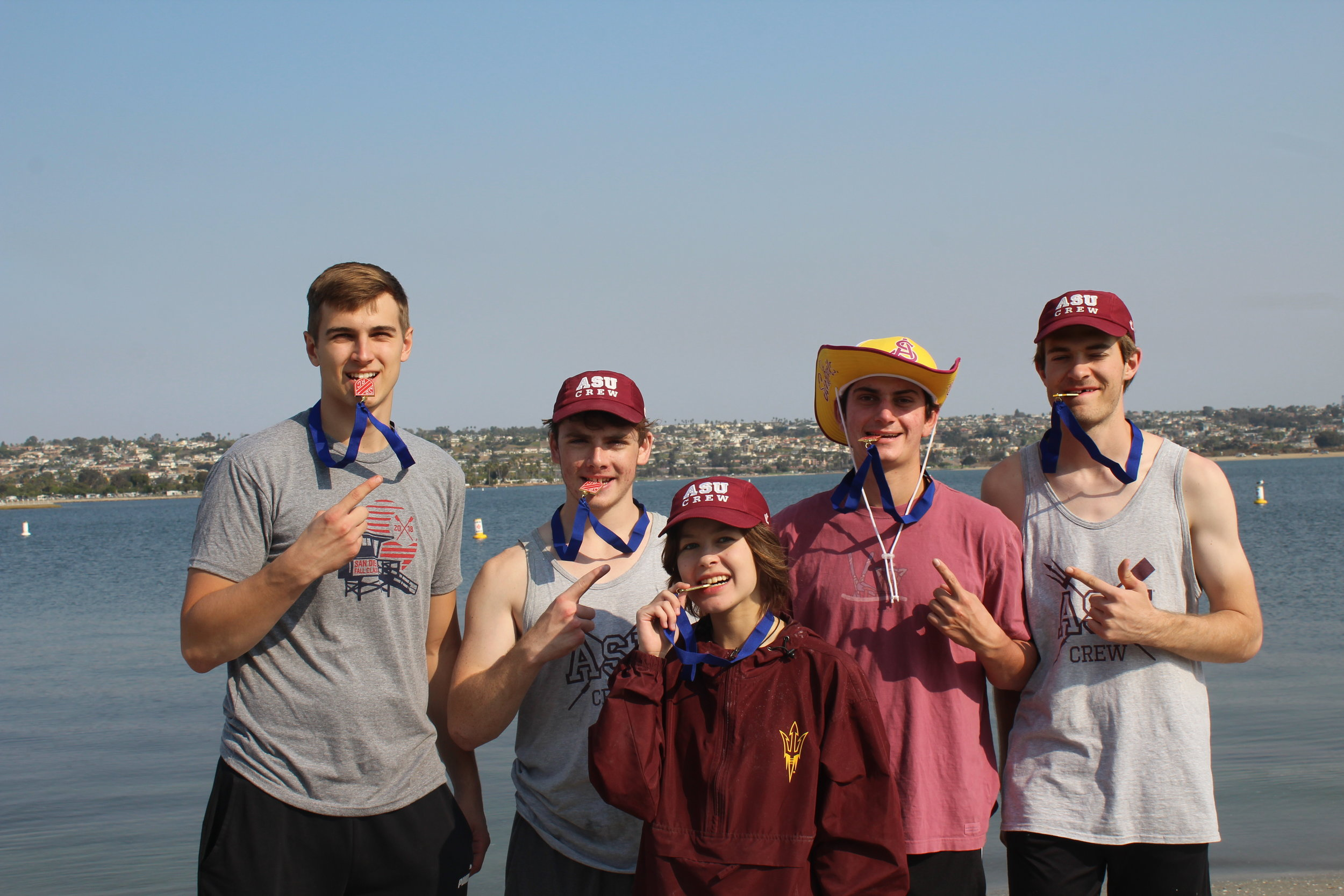 Men's Novice 4+ - 1st place - San Diego Fall Classic