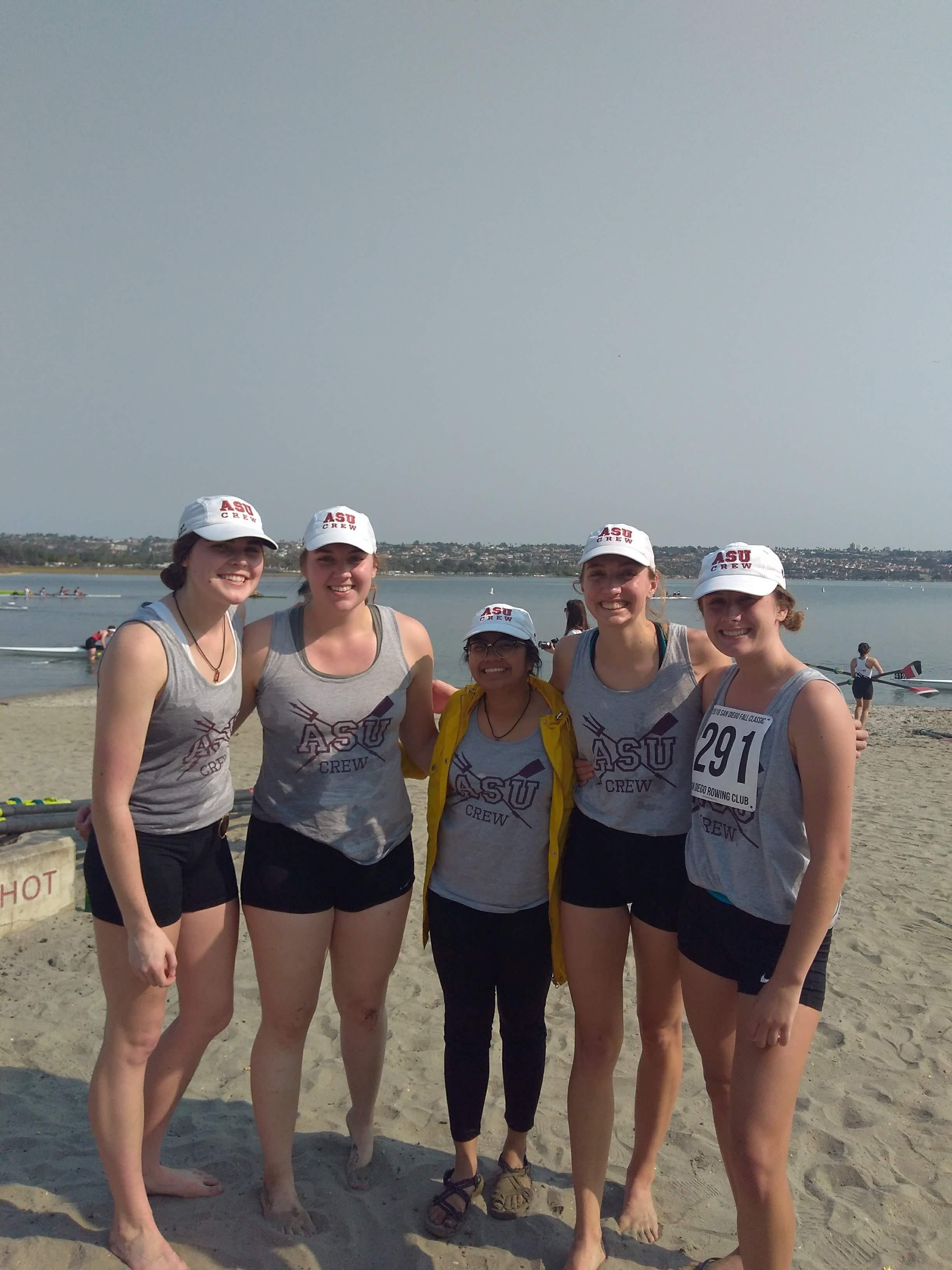 Women's Varsity 4+ - San Diego Fall Classic