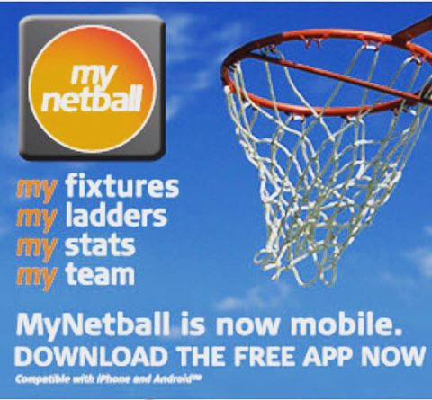 MyNetball is now mobile. Download the FREE app now.