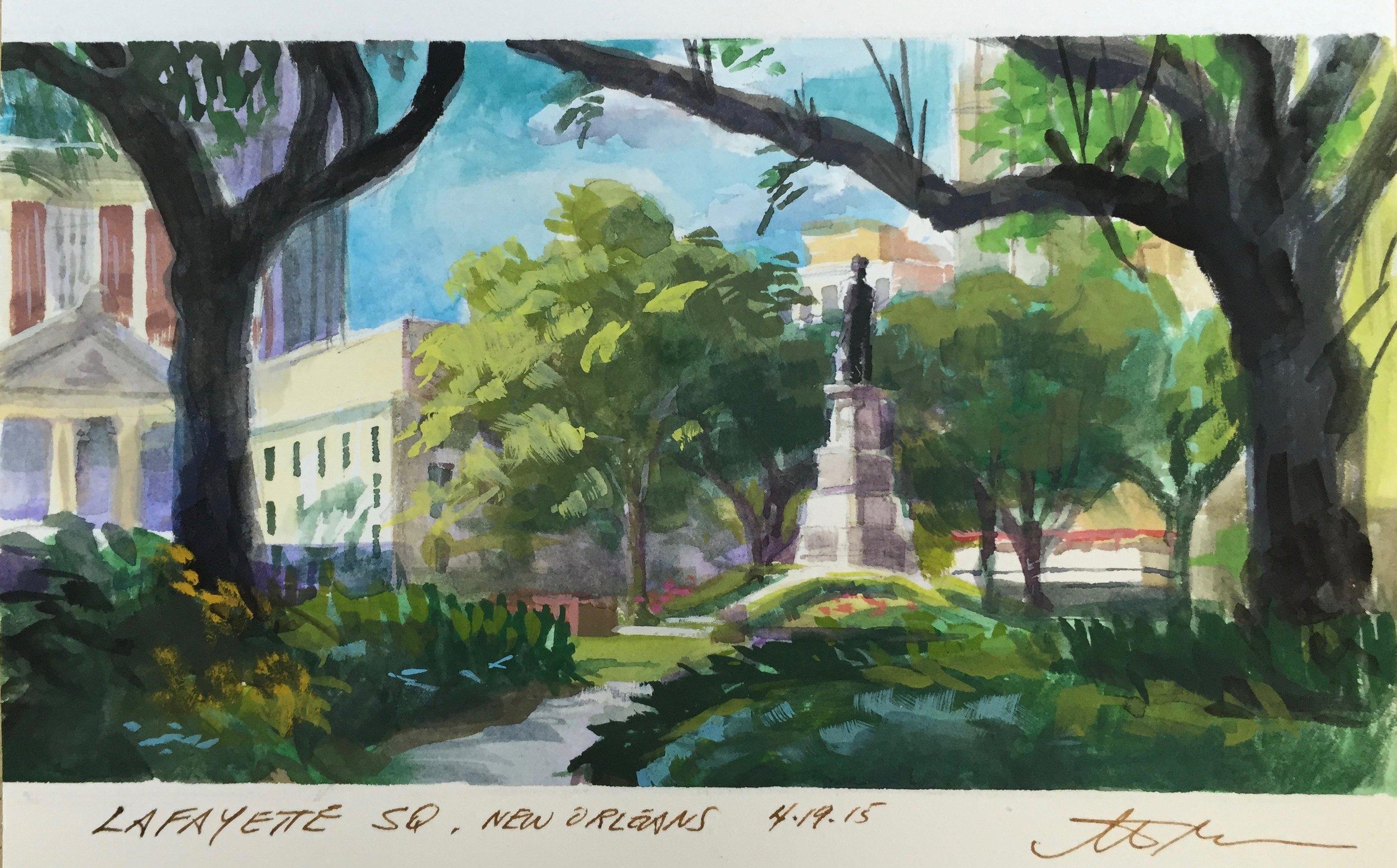 Lafayette Sq., New Orleans