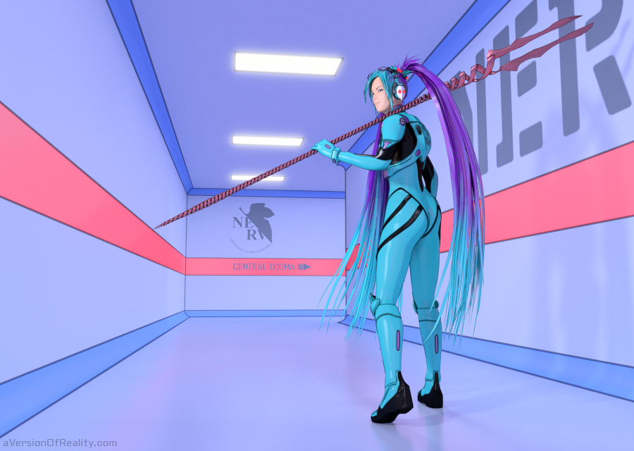 ...can a virtual character even really cosplay?