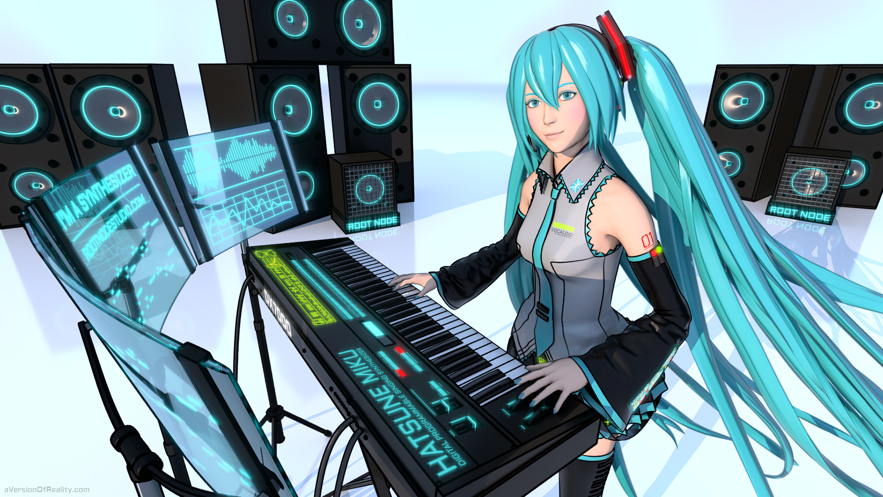 Click for full size.    View on  DeviantArt  or  Pixiv . Hatsune Miku character is © Crypton Future Media, Inc. 2007