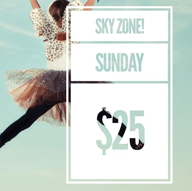Planning on coming to Sky Zone with us on Sunday? Comment below!  Service starts @ 10:40 am.  Service, lunch then Sky Zone!