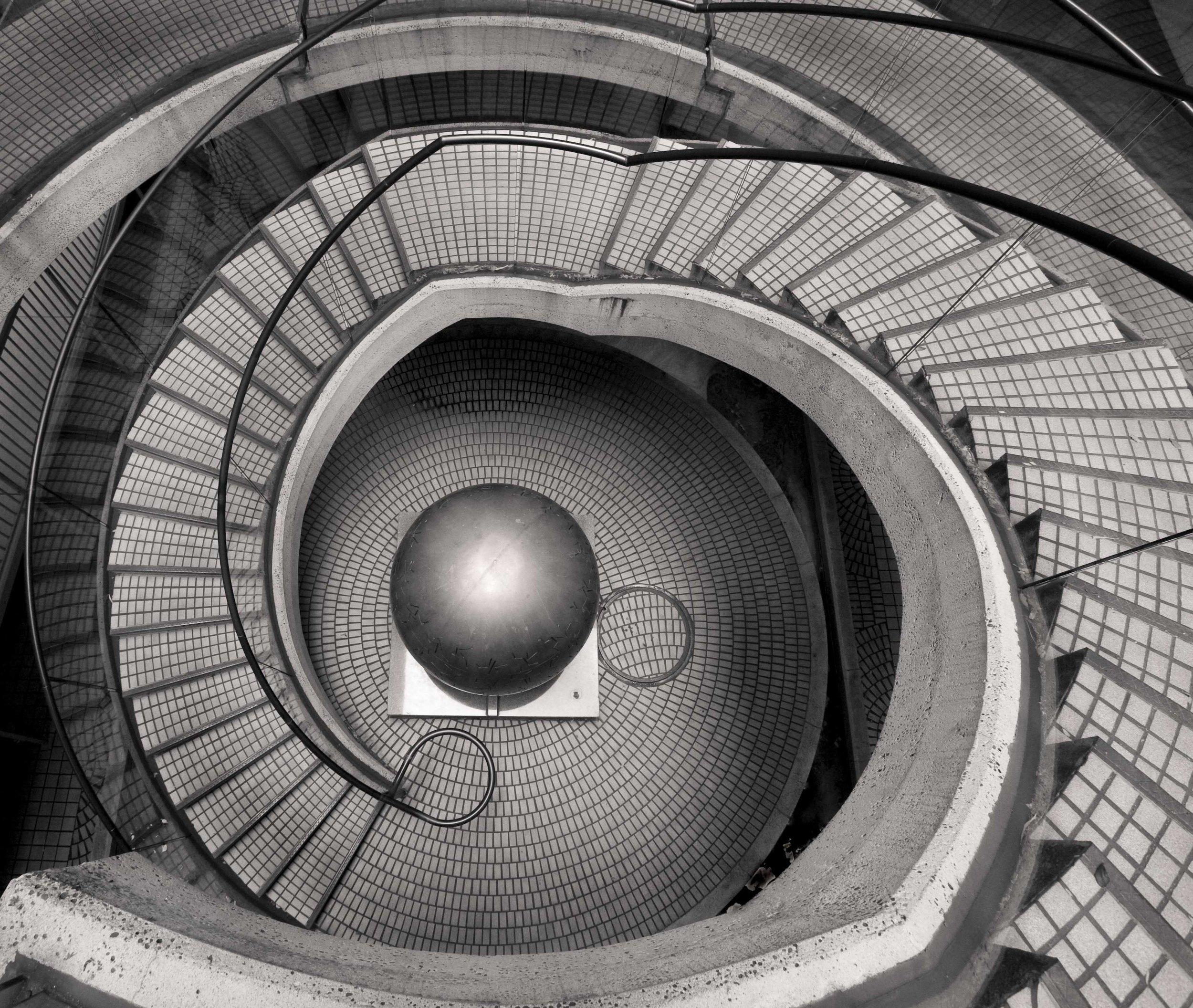 San Francisco Embarcadero spiral staircase