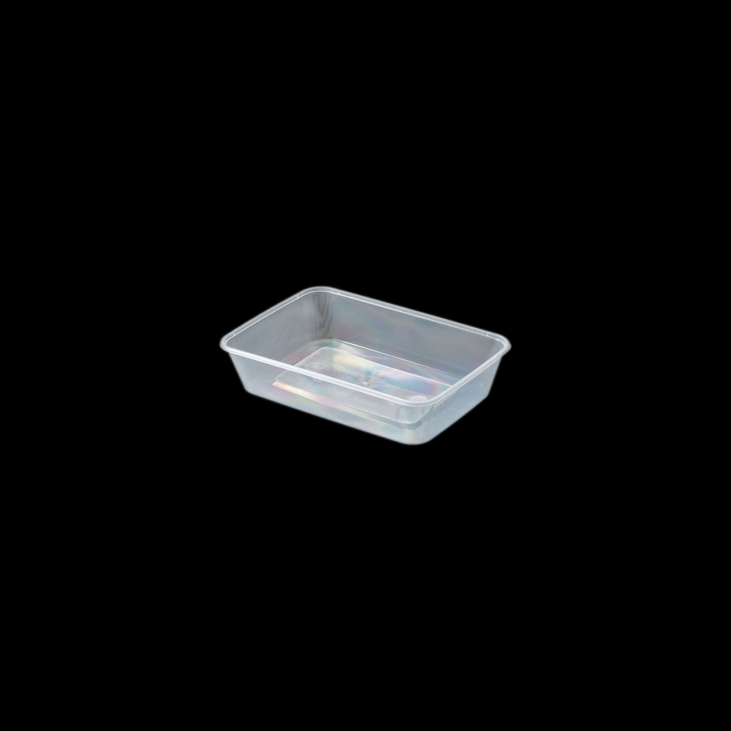 iK-CM500 Takeaway Containers   Rectangle 500mL 50 per sleeve 500 per carton