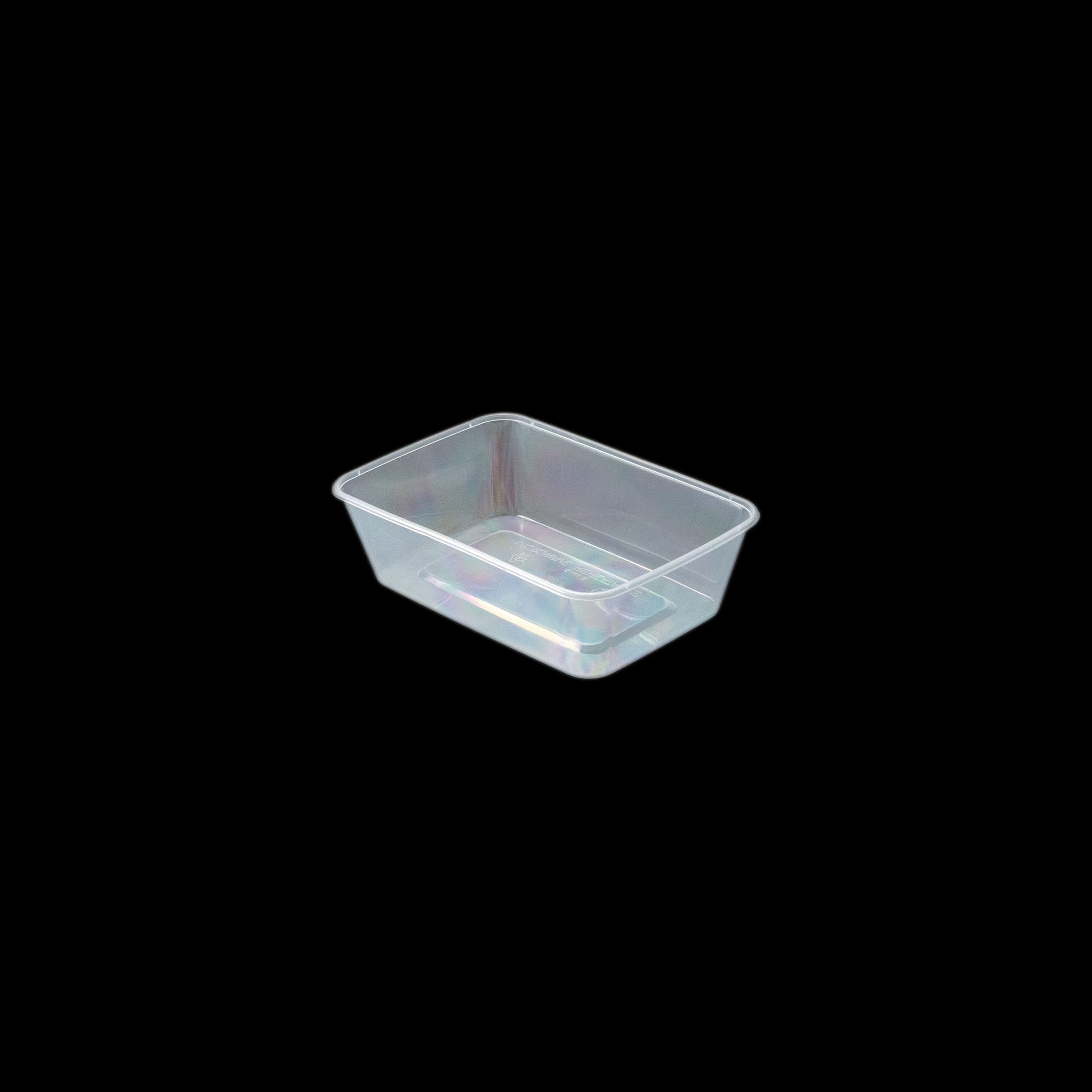 iK-CM650 Takeaway Containers   Rectangle 650mL 50 per sleeve 500 per carton