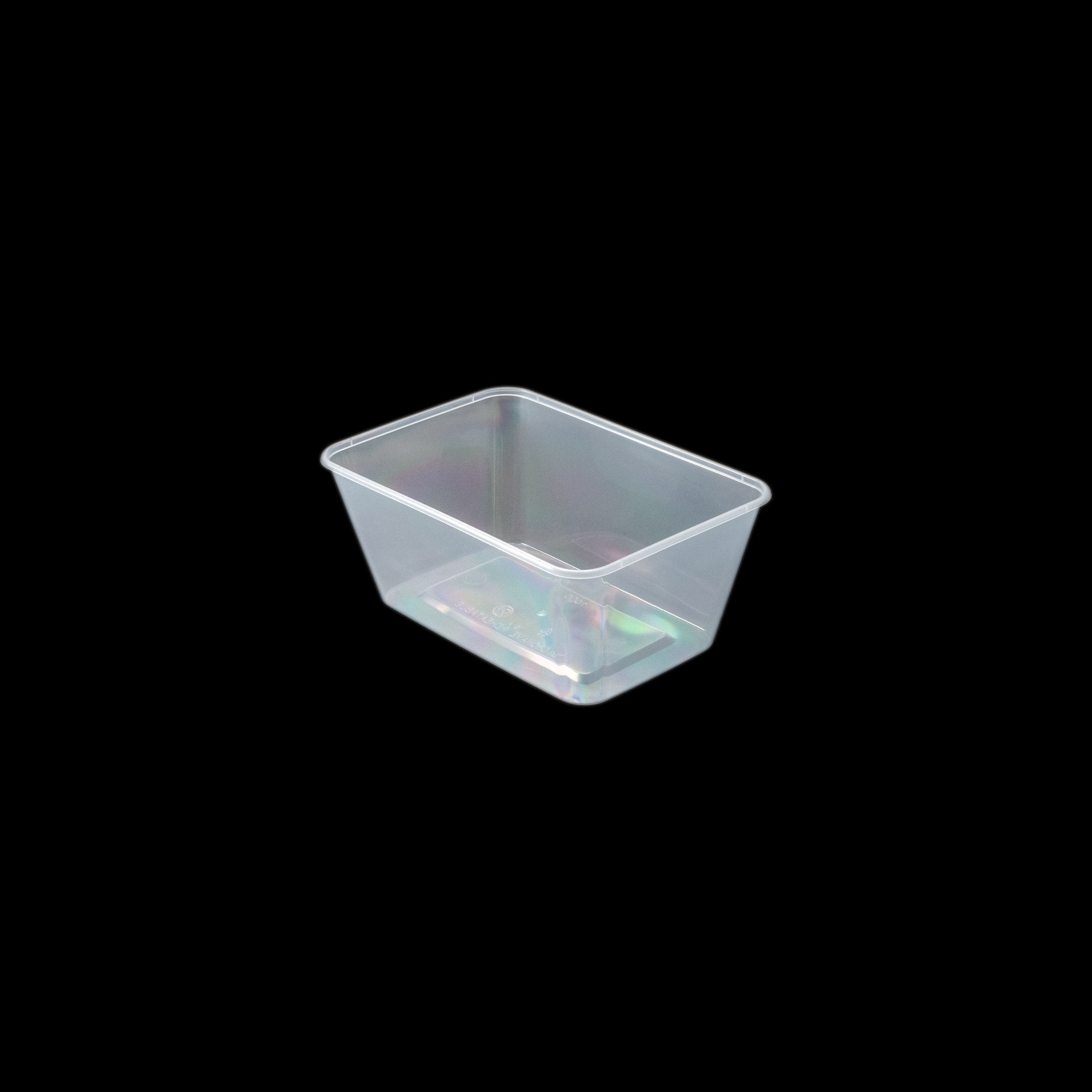 iK-CM1000 Takeaway Containers   Rectangle 1000mL 50 per sleeve 500 per carton