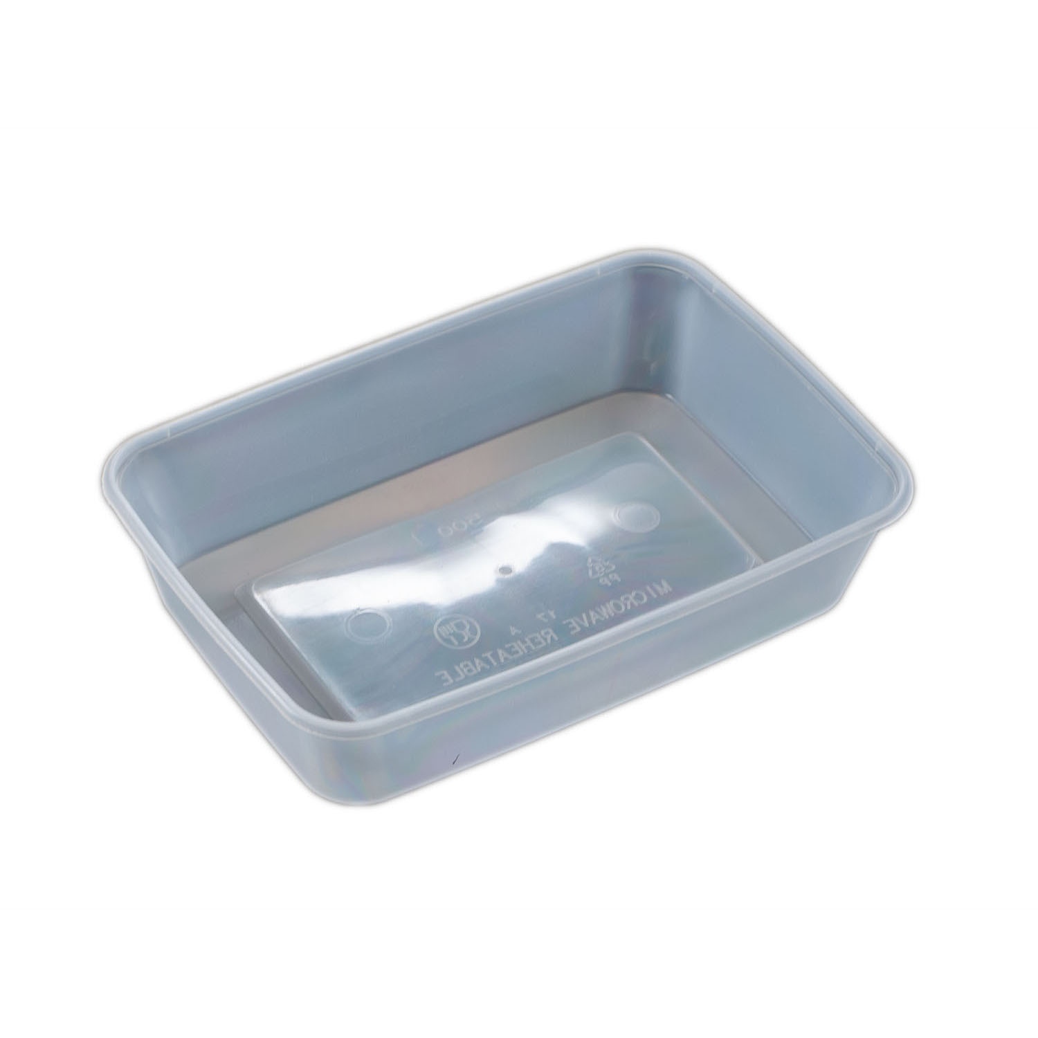 IK-FRZ500 containers & lid   500ml 50 per sleeve 250 per carton (5x50 bases and lid)