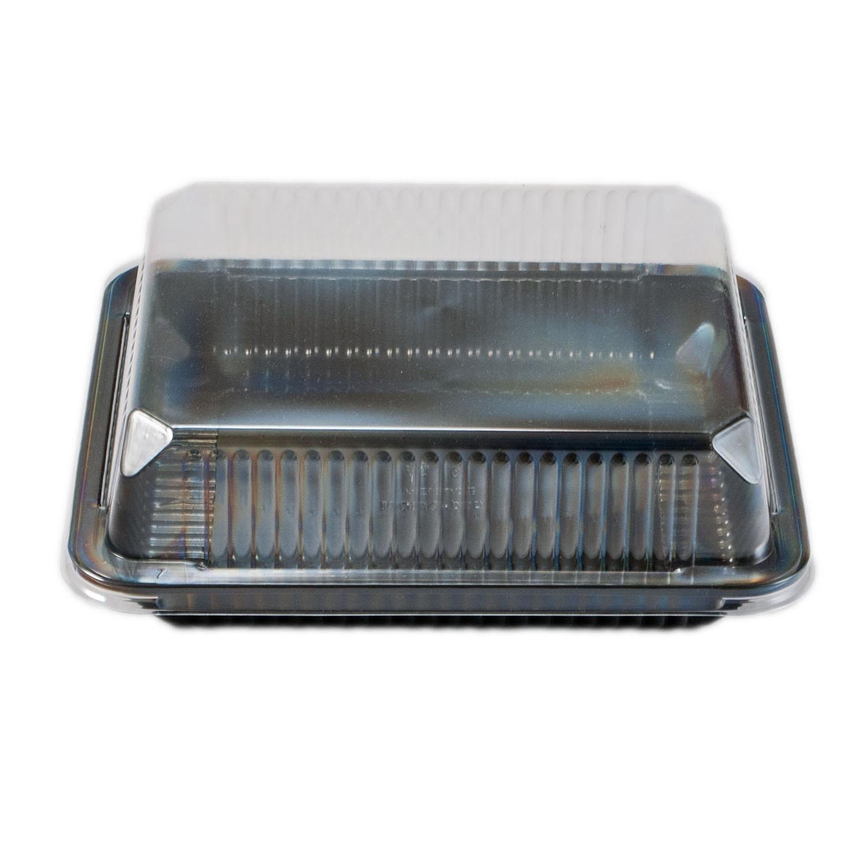 iK-SLABJB      CLEAR DOME AND BLACK SLAB BASE JUMBO    215x244x71mm 50 per sleeve 200 per carton