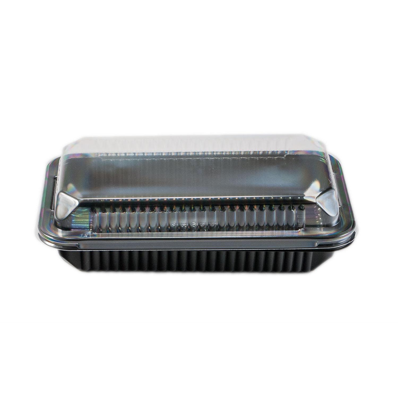 iK-BCAKE -SML      CLEAR DOME AND BLACK BASE 1/2 BAR CAKE    134x232x31mm 50 per sleeve 200 per carton