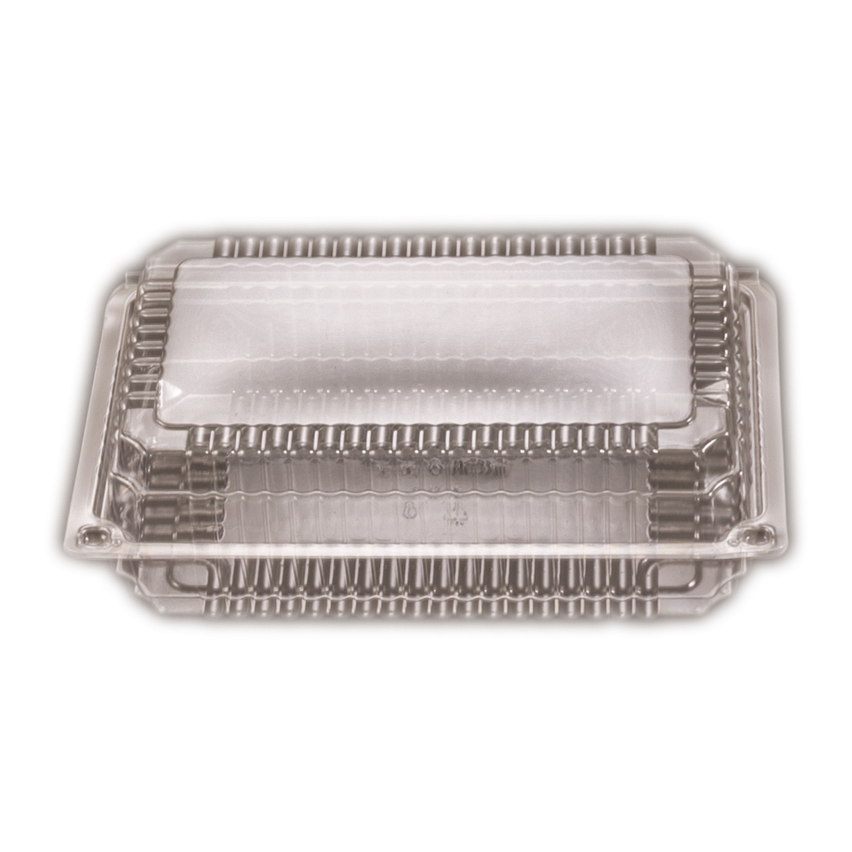 iK-SP3      RECTANGLE HINGED LARGE    193 x 240 x 35mm 125 per slv 500 per carton