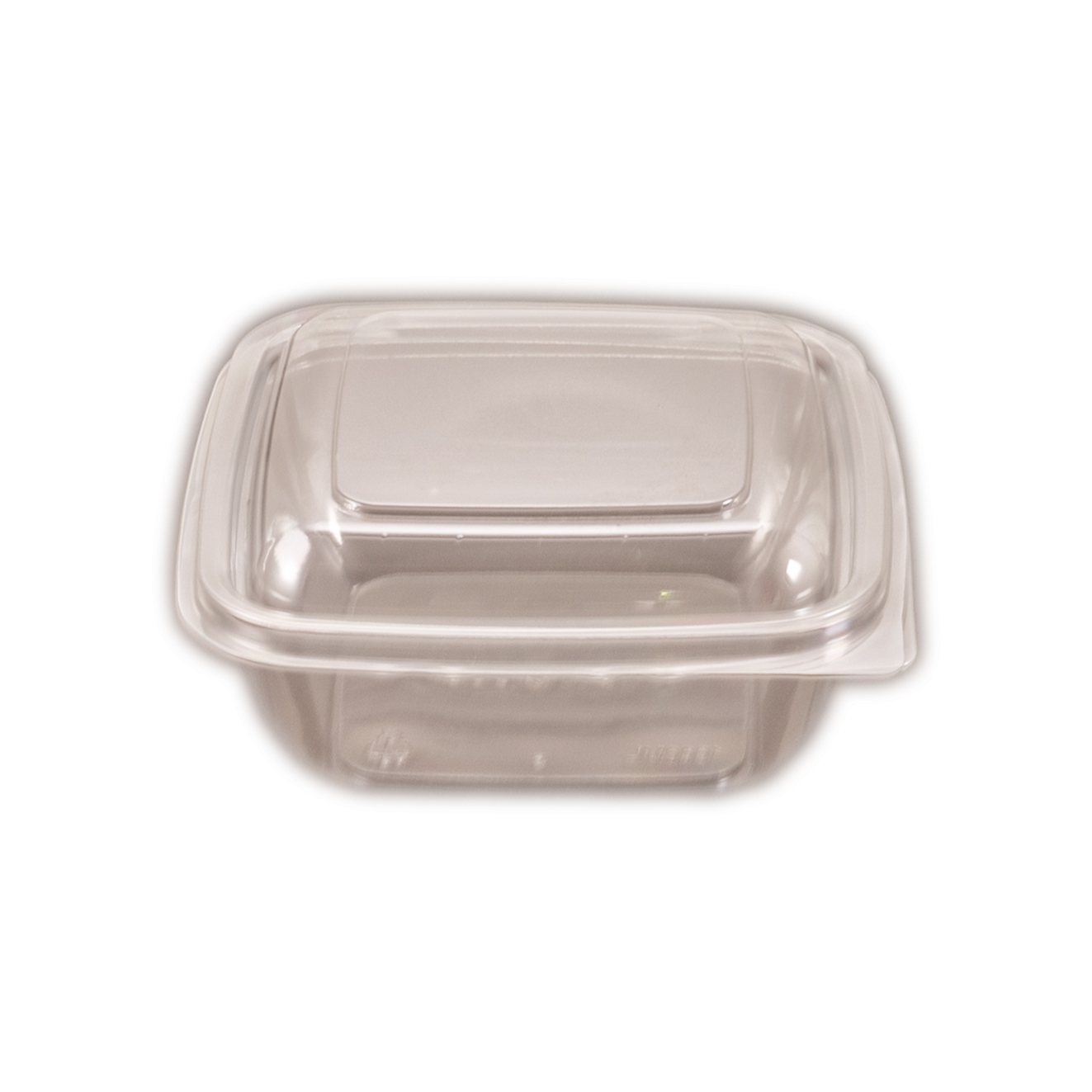 iKCUBE32 Hinged Lid     Containers Square 1000ml 50 per slv 150 per carton
