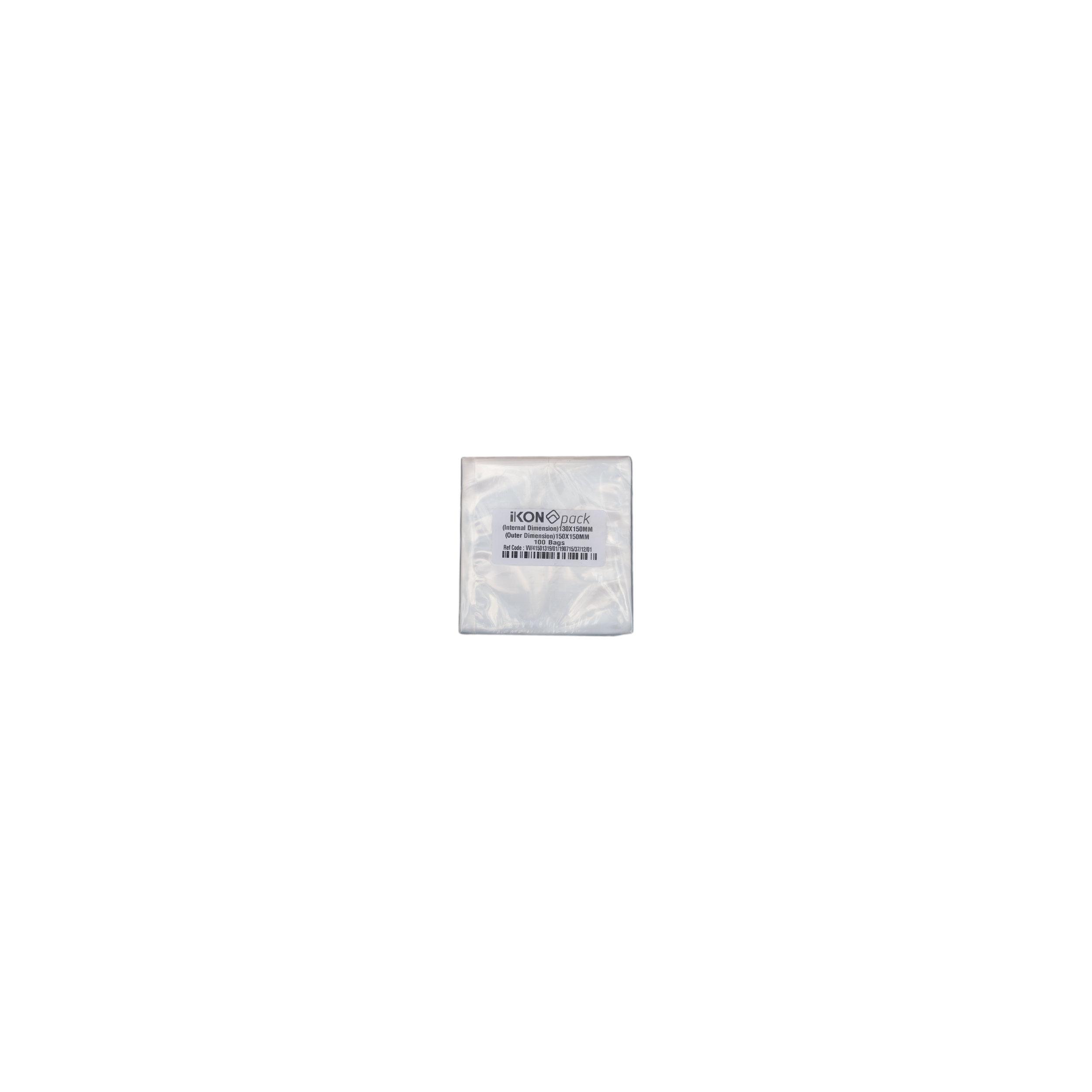 iK-VAC1315      VACUUM POUCH 70 MICRON 130X150    100 per slv 1000 per carton