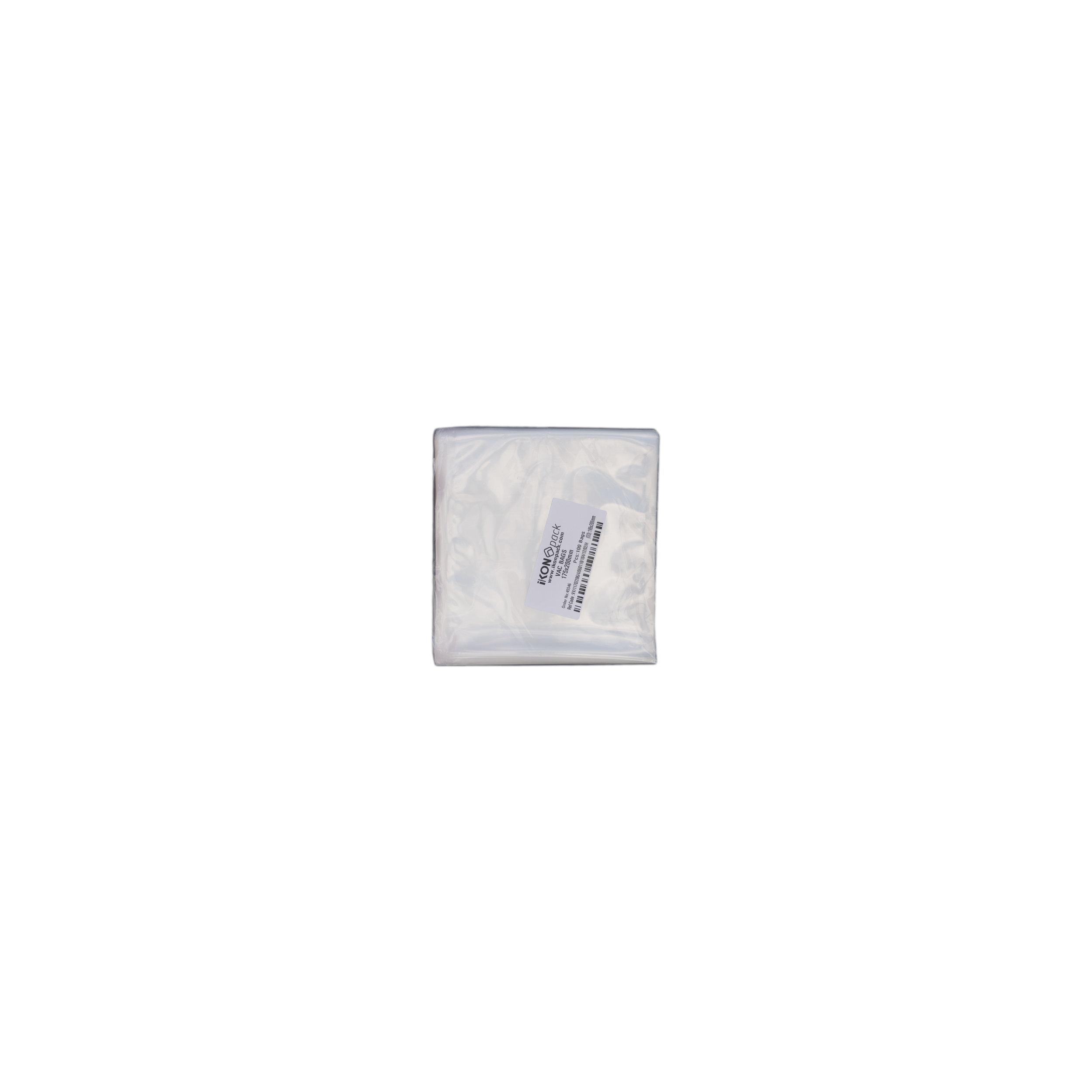 iK-VAC1720      VACUUM POUCH 70 MICRON 175X200    100 per slv 1000 per carton