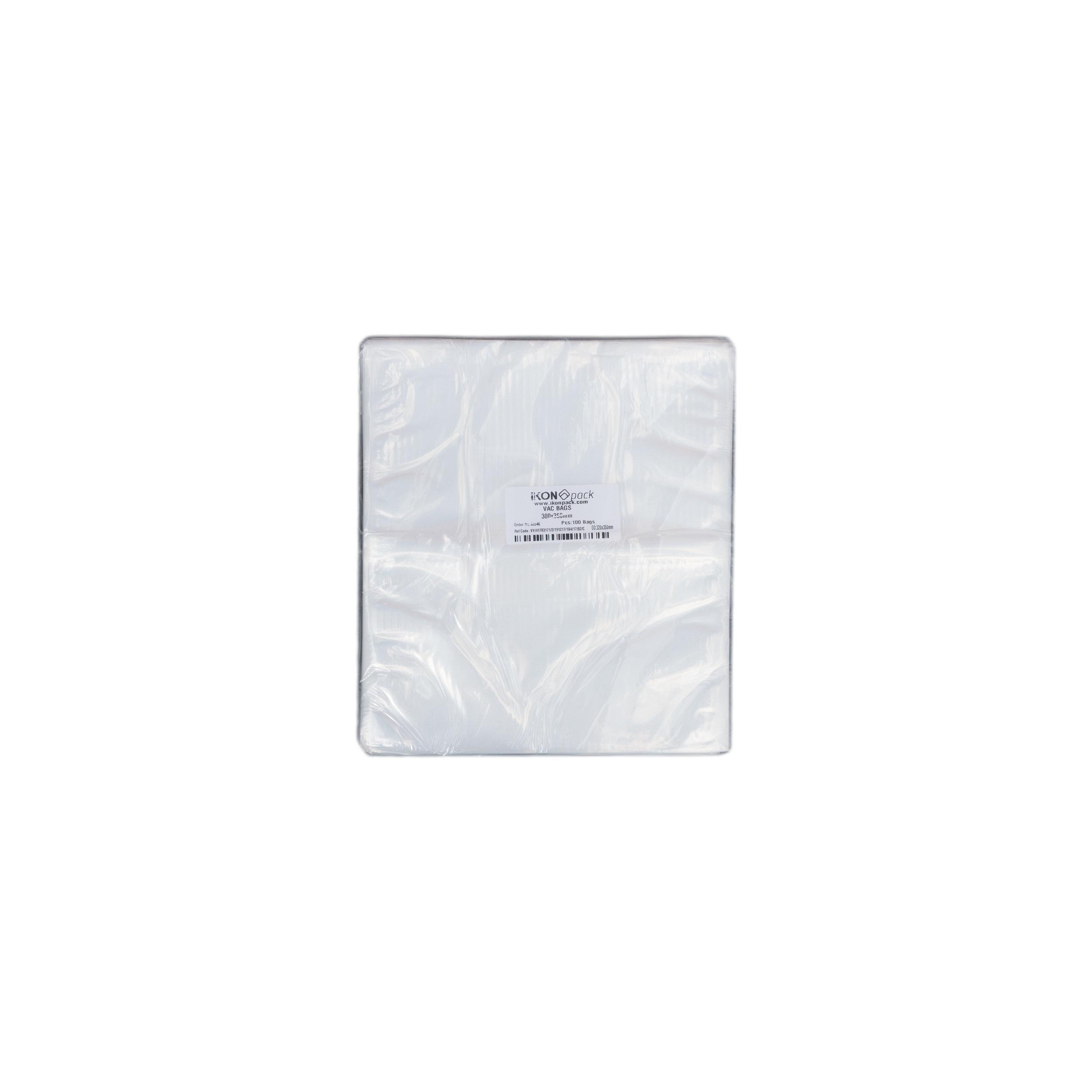 iK-VAC3035      VACUUM POUCH 70 MICRON 300X350    100 per slv 1000 per carton