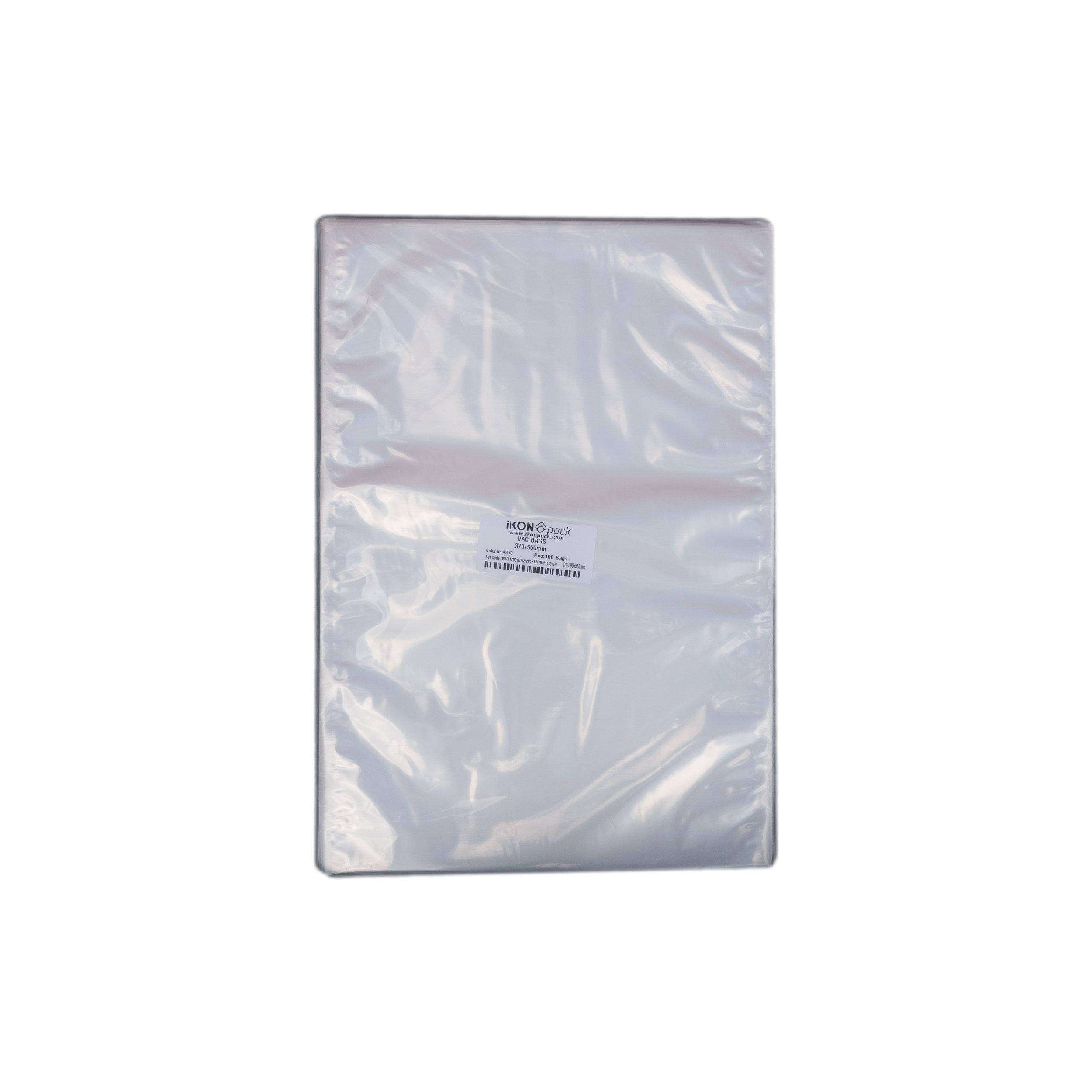 iK-VAC3755      VACUUM POUCH 70 MICRON 370X550    100 per slv 500 per carton