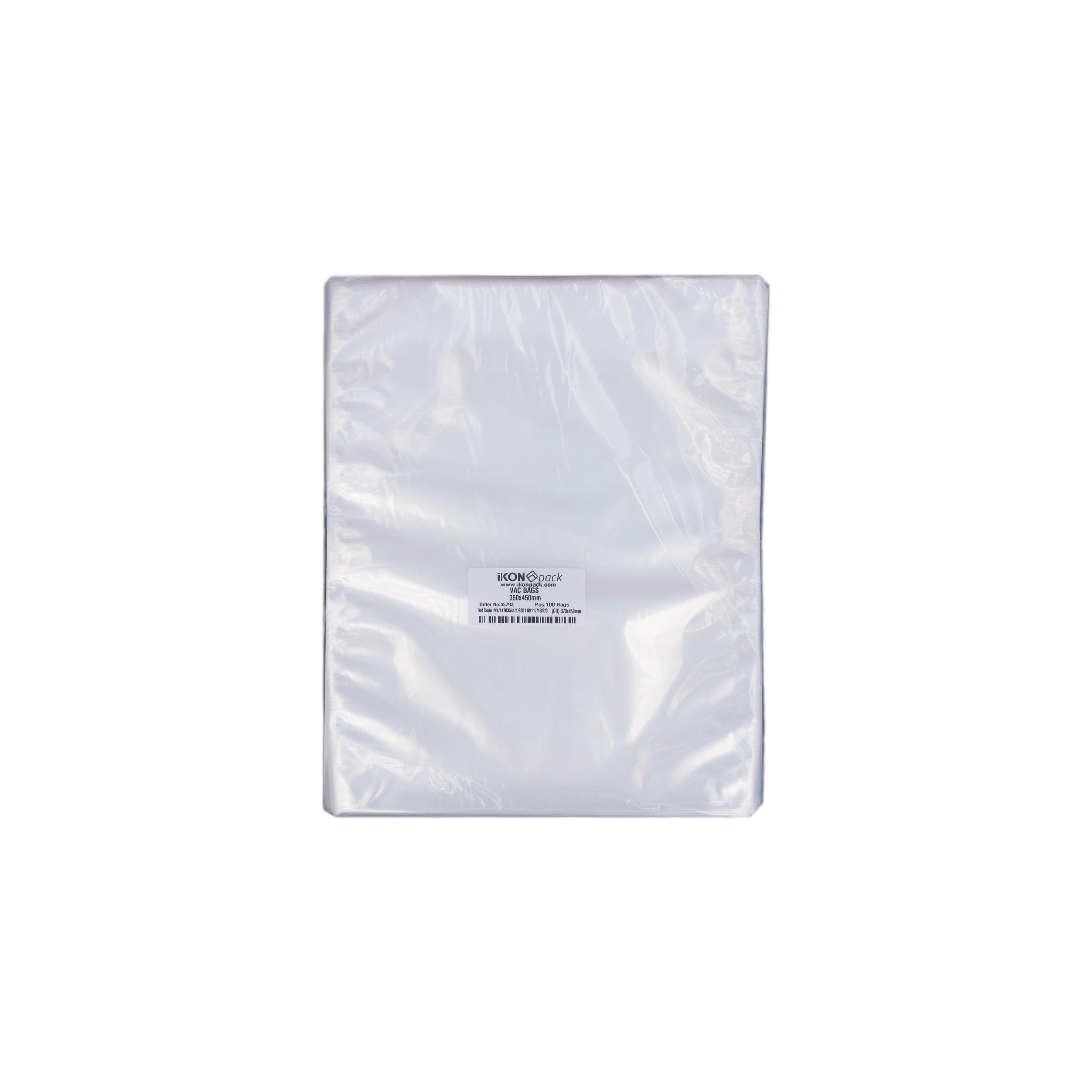 iK-VAC3545      VACUUM POUCH 70 MICRON 350X450    100 per slv 500 per carton